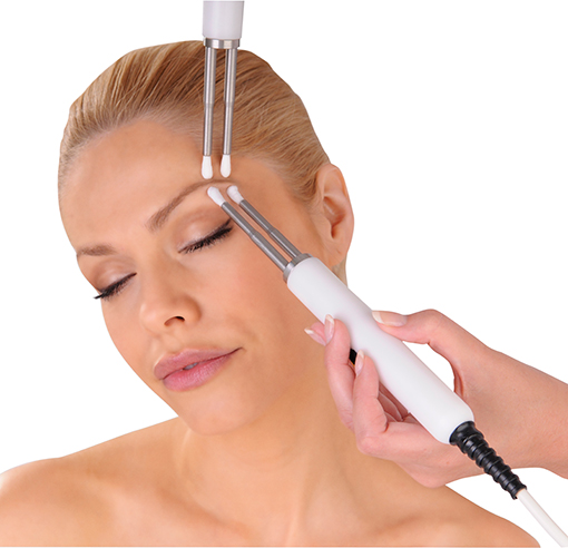 Image of a CACI non-surgical face lift treatment
