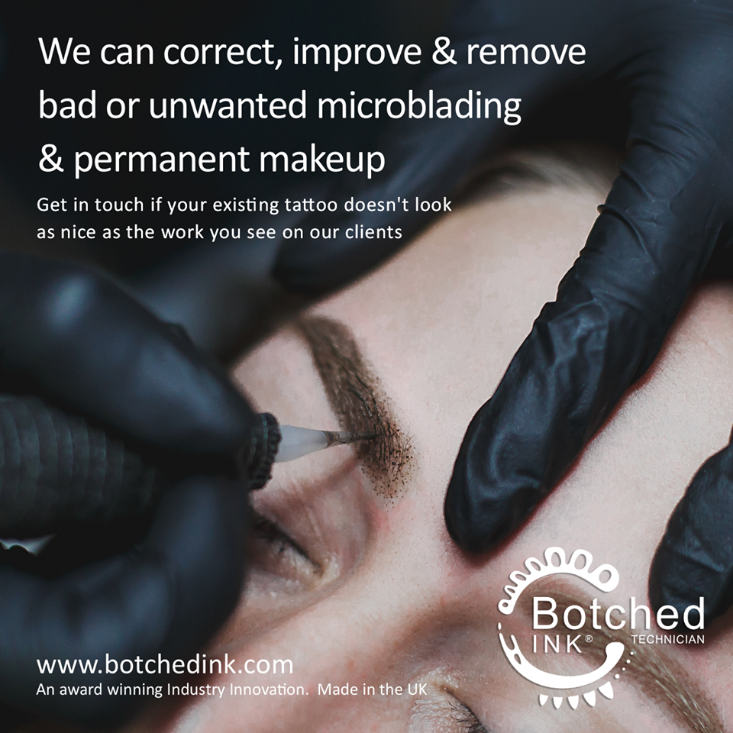 Image of Botched Ink for unwanted permanent make up